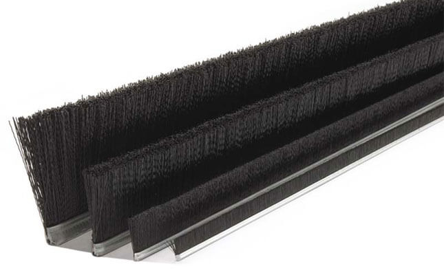cepillo burlete strip rígido